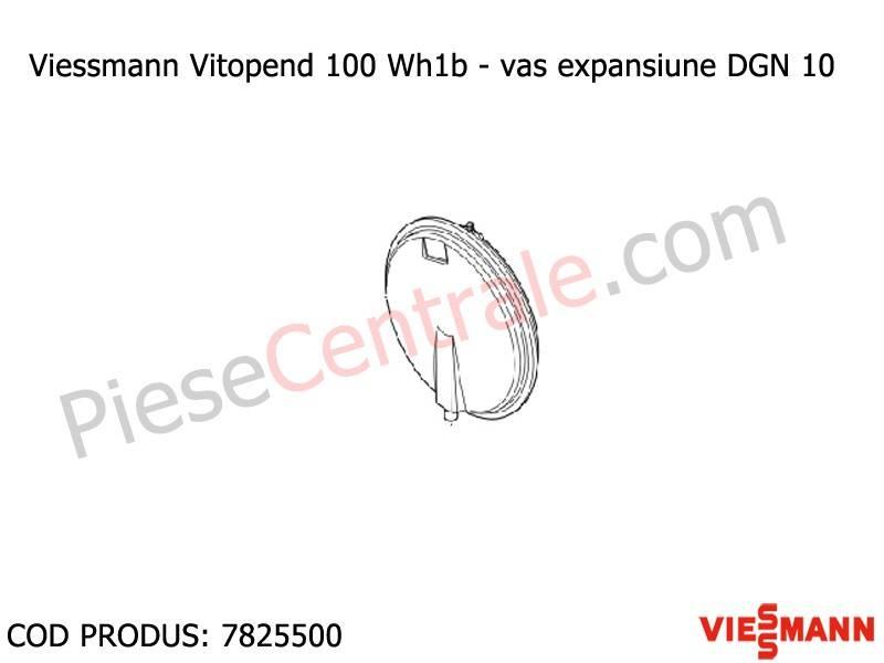 Poza  Vas expansiune DGN 10 centrale Viessmann Vitopend 100 WH1B 30 kw
