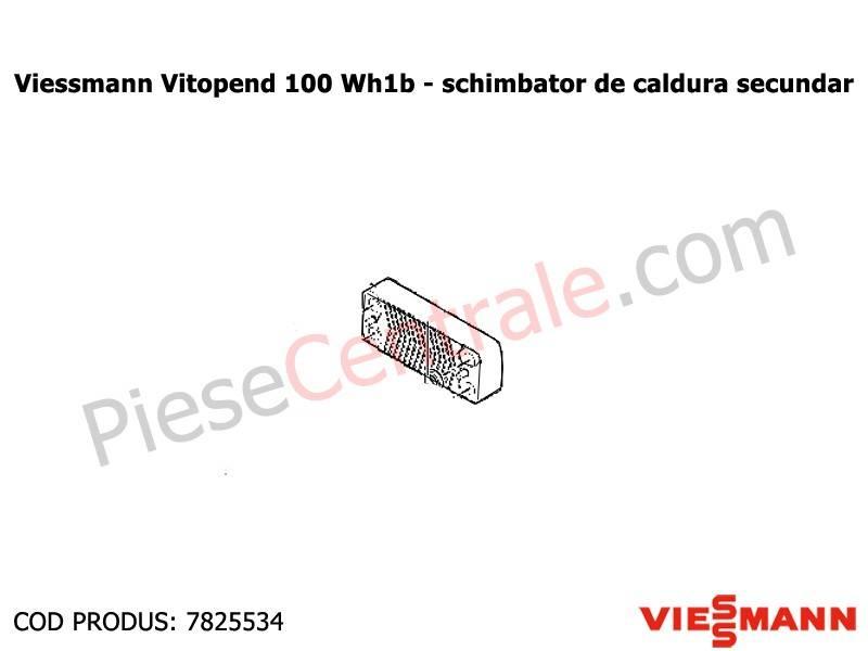 Poza Schimbator de caldura secundar Viessmann Vitopend 100 WH1B 30 kw