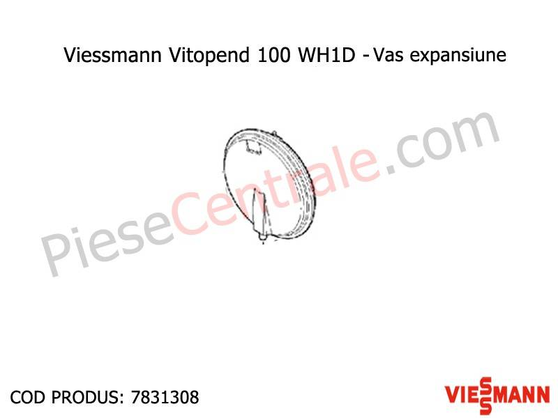 Poza Vas expansiune centrale termice Viessmann Vitopend 100 WH1D 24 kw