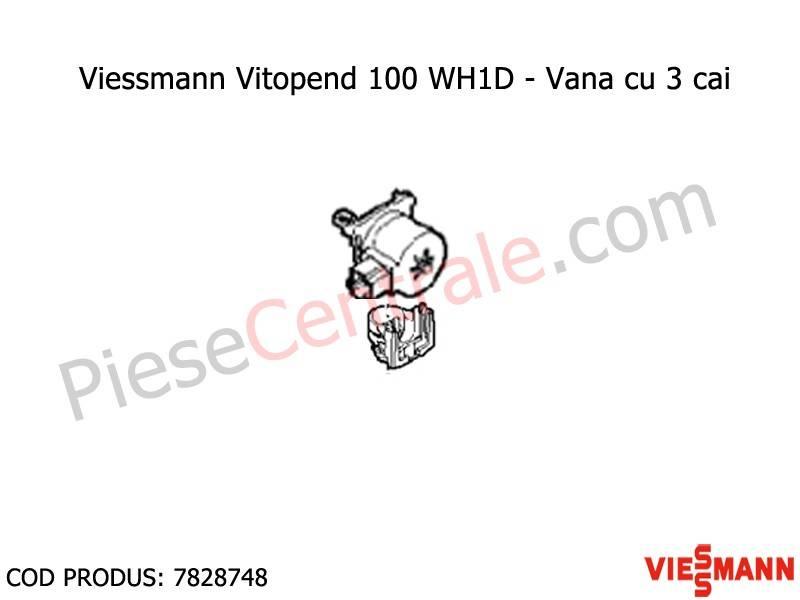 Poza Vana cu 3 cai centrale termice Viessmann Vitopend 100 WH1D, Vitodens 100 WB1B