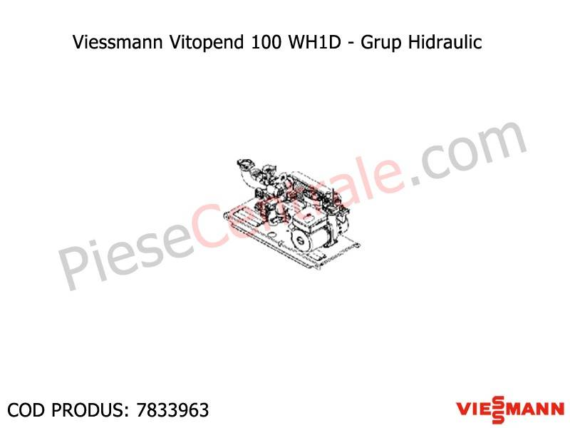 Poza Grup hidraulic centrale termice Viessmann Vitopend 100 WH1D 31 kw
