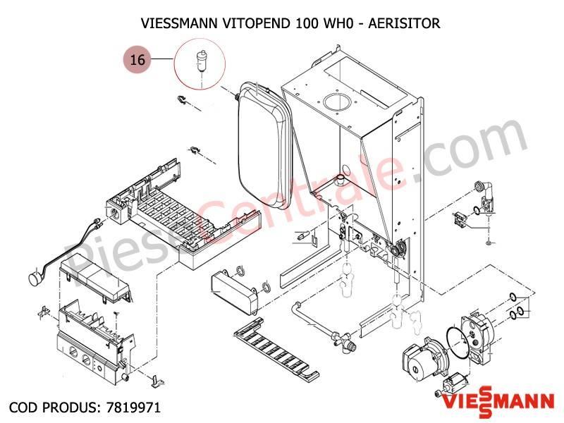 Poza Aerisitor centrale termice Viessmann Vitopend 100 WH0, VITODENS 200 W-WB2B, VITODENS 200 WB2