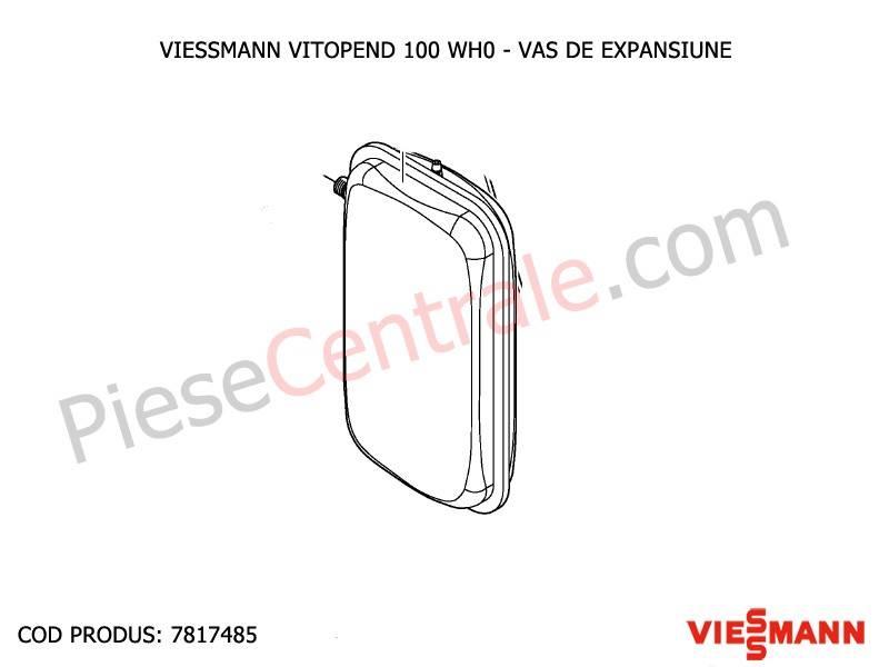 Poza Vas expansiune centrala termica Viessmann Vitopend 100 WH0