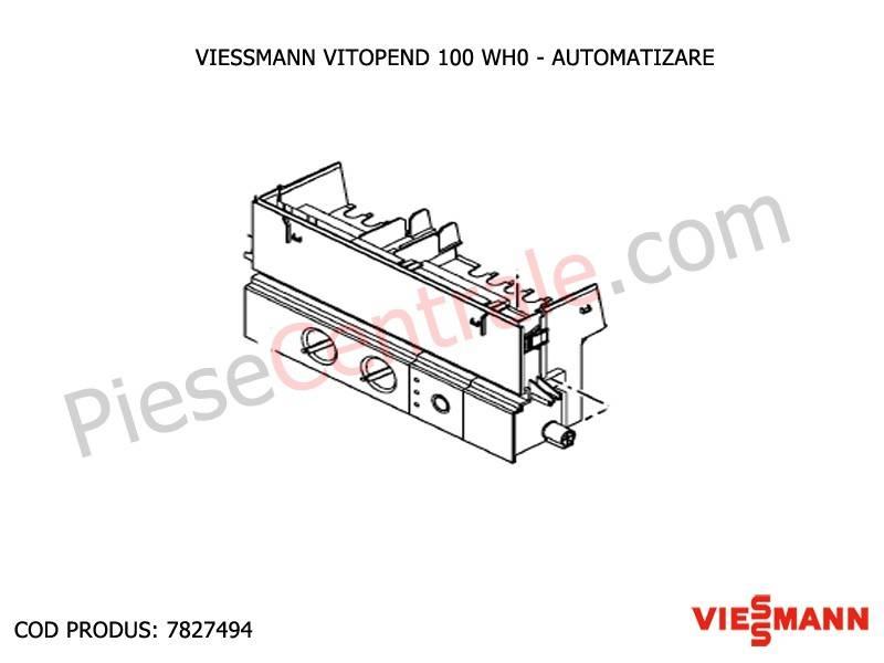 Poza Automatizare - placa electronica centrala termica Viessmann Vitopend 100 WH0