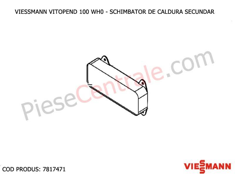 Poza Schimbator de caldura secundar centrale termice Viessmann Vitopend 100 WH0 si WHE
