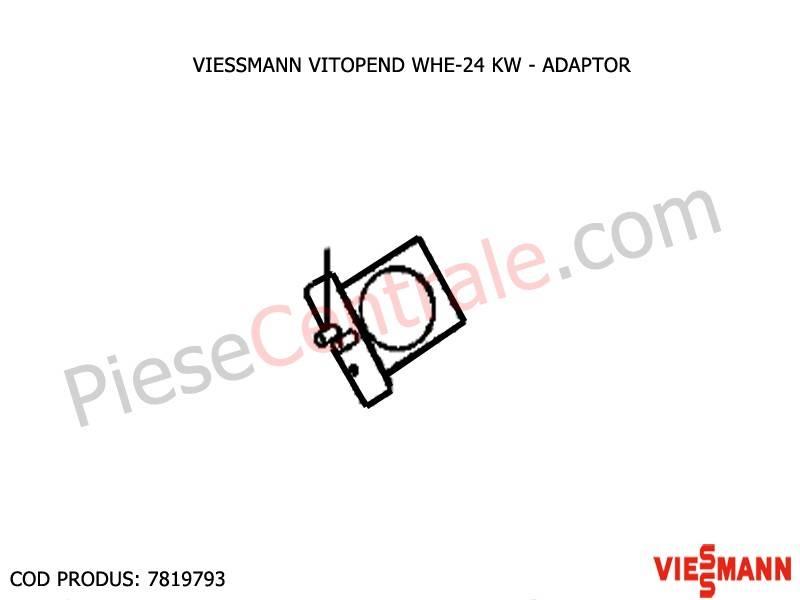 Poza Adaptor centrala termica Viessmann Vitopend WHE