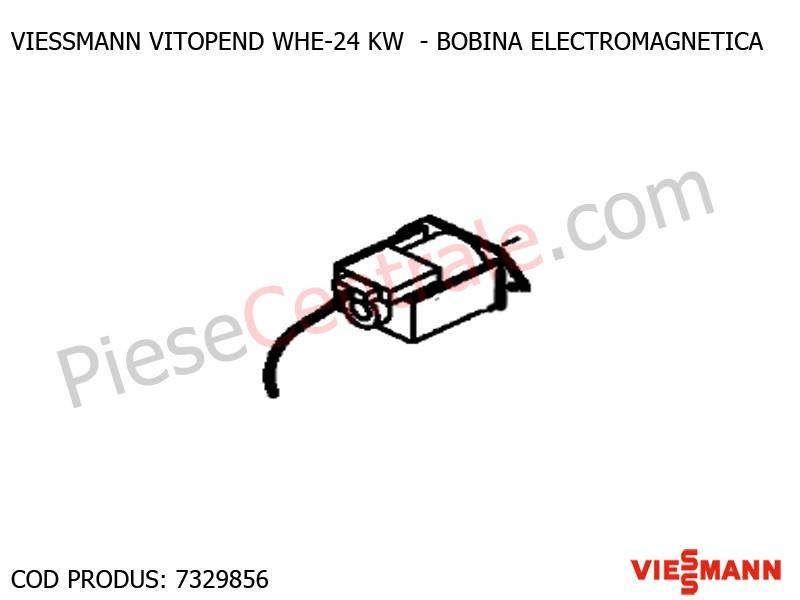 Poza Bobina electromagnetica centrale termice Viessmann Vitopend WHE si Vitodens 200 WB2