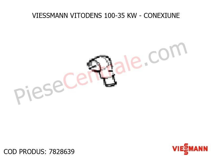 Poza Conexiune centrala termica Viessmann Vitodens 100 35 WB1B