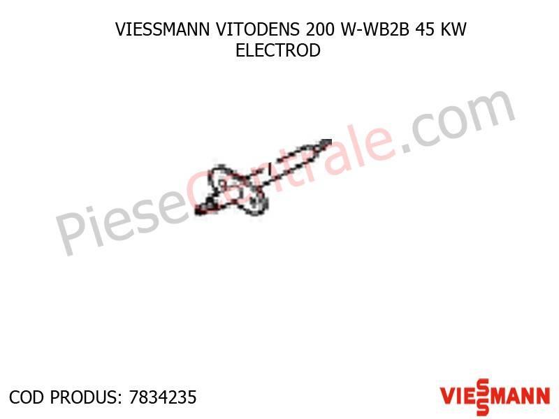 Poza Electrod centrala termica VITODENS 200 W-WB2B 45 KW