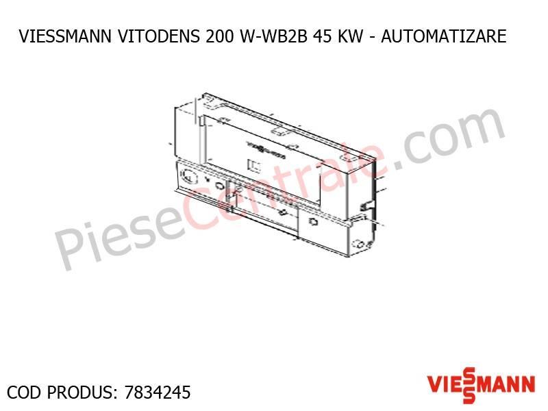 Poza Automatizare centrala termica Viessmann VITODENS 200 W-WB2B 45 KW