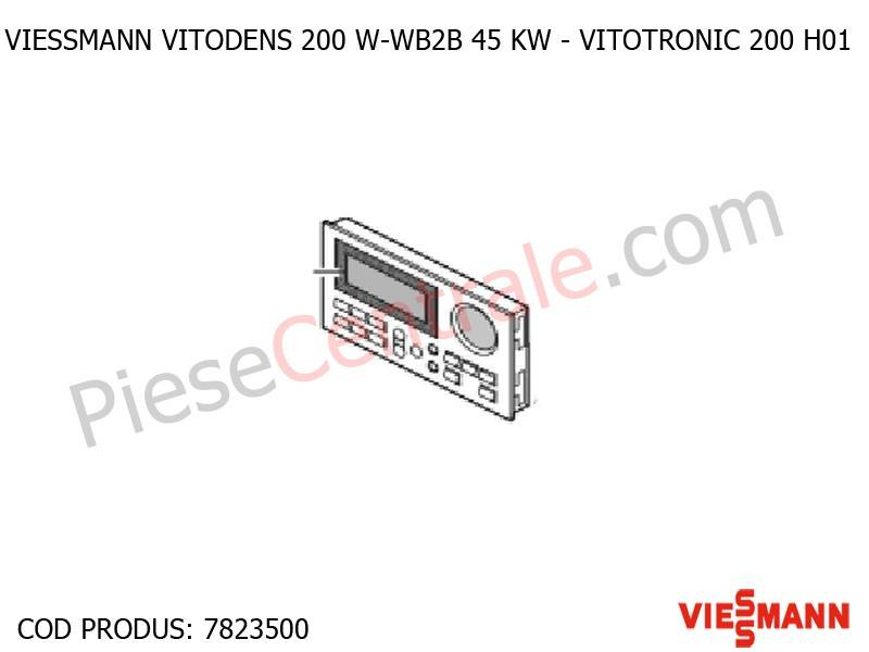 Poza Vitotronic 200 H01 pentru centrala termica Viessmann Vitodens 200