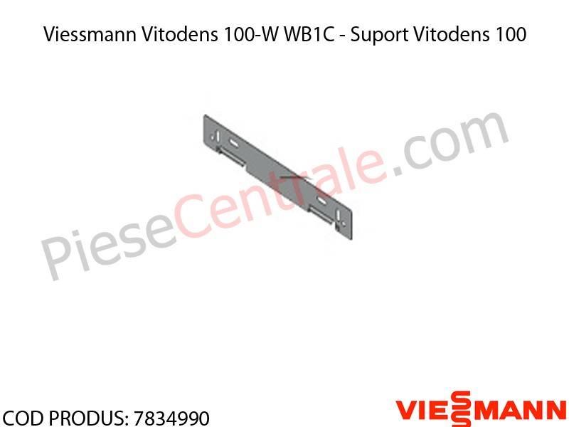 Poza Suport centrala termica Viessmann Vitodens 100-W WB1C