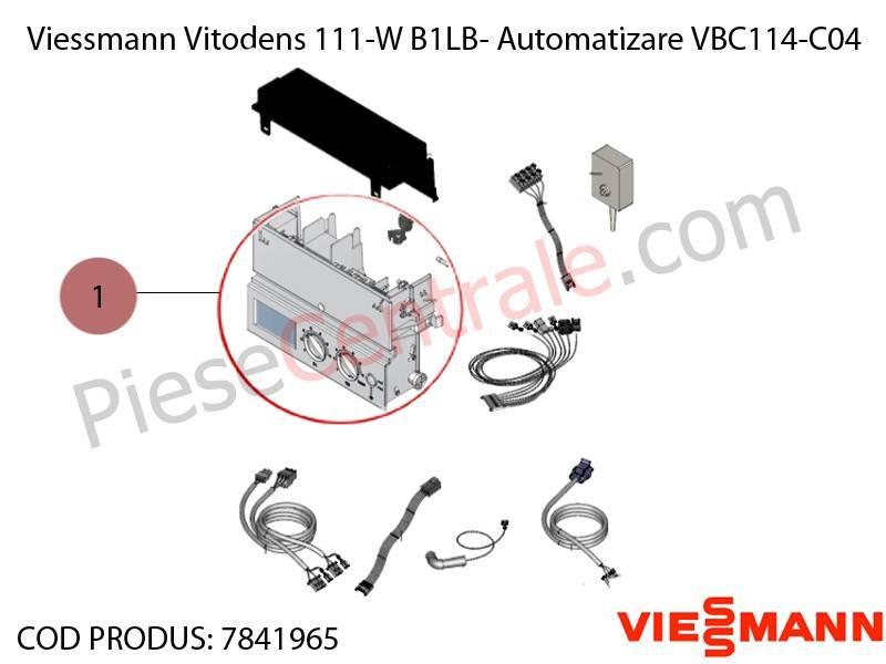 Poza Automatizare VBC114-C04 centrala termica Viessmann Vitodens 111-W B1LB