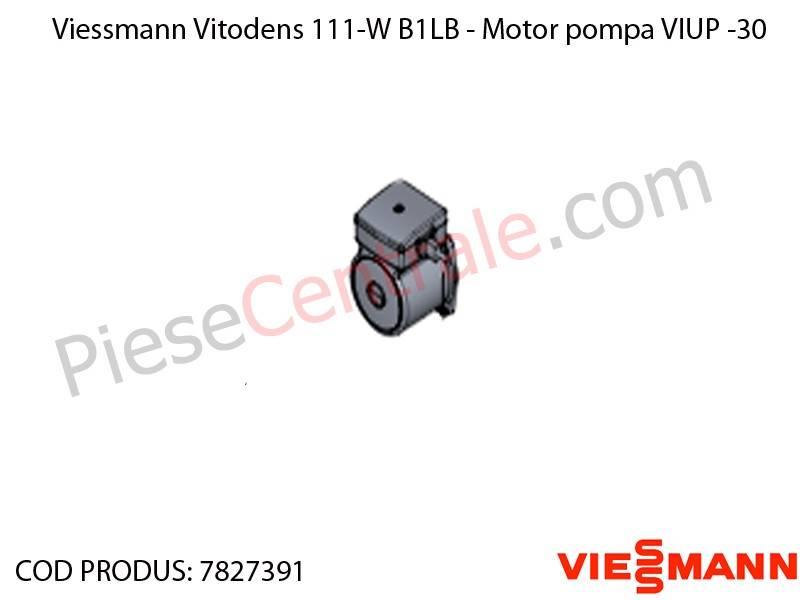 Poza Motor pompa VIUP -30 centrala termica Viessmann Vitodens 111-W B1LB, Vitopend 111-W WHSB turbo
