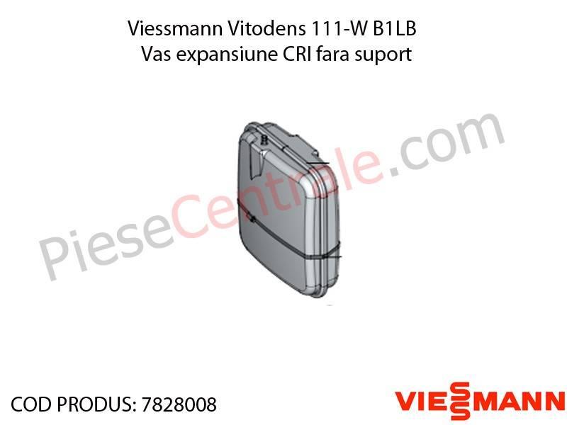 Poza Vas expansiune CRI fara suport centrala termica Viessmann Vitodens 111-W B1LB, Vitopend 111-W WHSB turbo