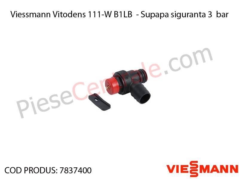 Poza Supapa siguranta 3 bar centrala termica Viessmann Vitodens 111-W B1LB