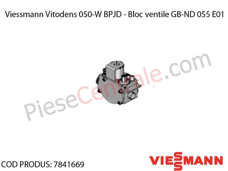 Poza Bloc ventile GB-ND 055 E01 centrala termica Viessmann Vitodens 050-W BPJD