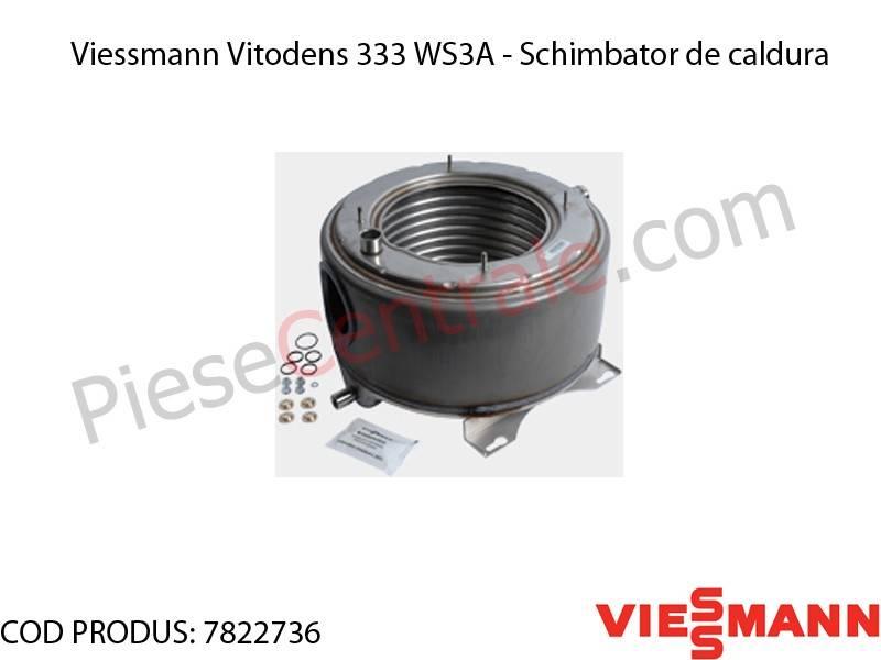 Poza Schimbator de caldura centrala termica Viessmann Vitodens 333 WS3A