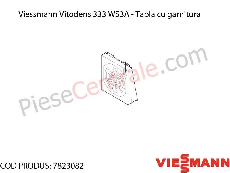 Poza Tabla cu garnitura centrala termica Viessmann Vitodens 333 WS3A