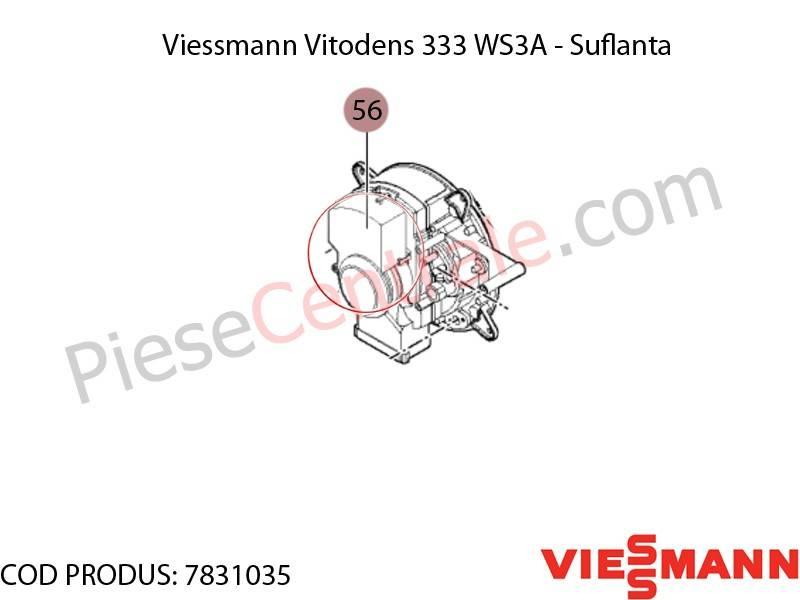 Poza Suflanta centrala termica Viessmann Vitodens 333 WS3A
