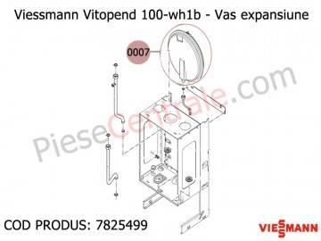 Poza Vas expansiune centrale termice Viessmann Vitopend 100 WH1B 24 kw