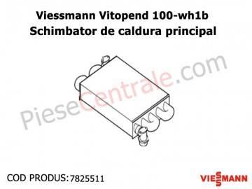 Poza Schimbator caldura primar centrale termice Viessmann Vitopend 100
