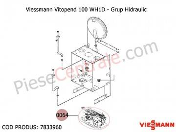 Poza Grup hidraulic centrale termice Viessmann Vitopend 100 WH1D 24 kw