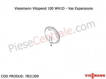 Poza Vas expansiune centrala termica Viessmann Vitopend 100 WH1D 31 kw