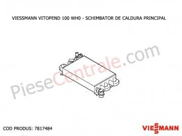 Poza Schimbator de caldura principal centrala termica Viessmann Vitopend 100 WH0