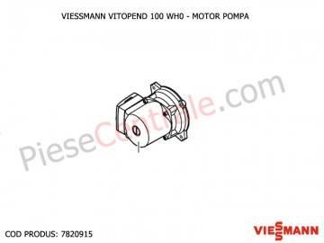 Poza Motor pompa centrale termice Viessmann Vitopend 100 WH0 si WHE