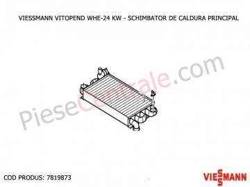 Poza Schimbator de caldura principal centrala termica Viessmann Vitopend WHE