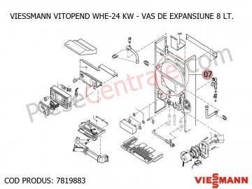 Poza Vas expansiune centrala termica Viessmann Vitopend WHE