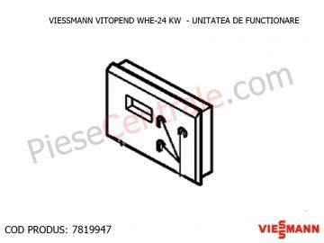Poza Unitate de functionare centrale termice Viessmann Vitopend WHE si Vitodens 200 WB2