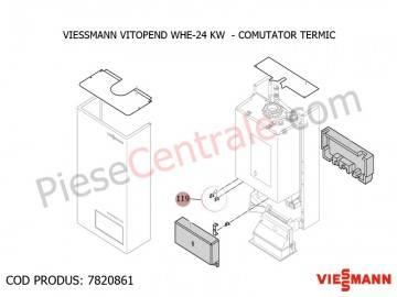 Poza Comutator termic confort centrala termica Viessmann Vitopend WHE