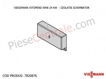 Poza Izolatie schimbator centrala termica Viessmann Vitopend WHE
