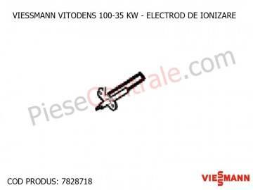 Poza Electrod de ionizare pentru centrala termica Viessmann Vitodens 100 35 WB1B, Vitodens 111-W B1LB