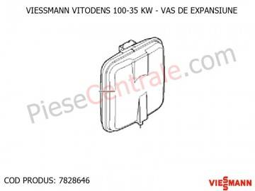 Poza  Vas expansiune centrala termica Viessmann Vitodens 100 35 WB1B