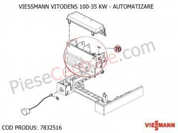 Poza Automatizare ( placa electronica ) centrala termica Viessmann Vitodens 100 35 WB1B