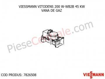Poza Vana de gaz centrala termica VITODENS 200 W-WB2B 45 KW