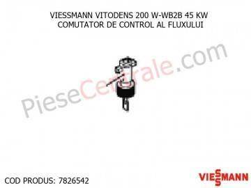 Poza Comutator de control al fluxului centrala termica Viessmann VITODENS 200 W-WB2B 45 KW