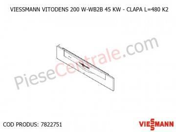 Poza Clapa centrala Viessmann Vitodens 200 W-WB2B 45 KW