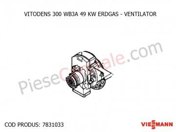 Poza Ventilator centrala termica Viessmann Vitodens 300