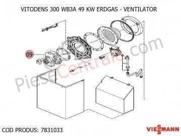Poza Schimbator de caldura centrala termica Viessmann Vitodens 300