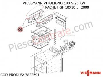 Poza Pachet GF 10X10 L-2000 centrala pe lemne Viessmann Vitoligno 100 S si Vitoligno VL 1A