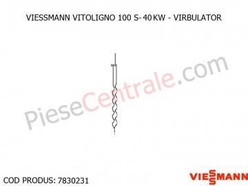 Poza Virbulator centrala pe lemne Viessmann Vitoligno 100 S 30 kw si 40 kw