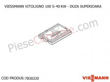 Poza Duza superioara centrala pe lemne Viessmann Vitoligno 100 S 40 kw