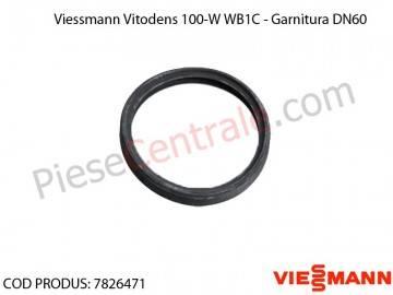 Poza Garnitura DN60 centrala termica Viessmann Vitodens 100-W WB1C, Vitodens 050-W BPJD