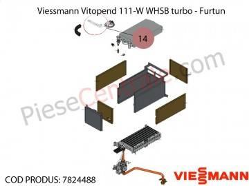 Poza Furtun centrala termica Viessmann Vitopend 111-W WHSB turbo