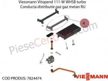 Poza Conducta distributie gaz metan RU centrala termica Viessmann Vitopend 111-W WHSB turbo