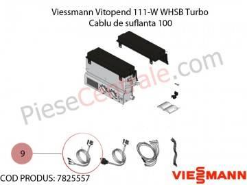 Poza Cablu de suflanta 100 centrala termica Viessmann Vitopend 111-W WHSB turbo
